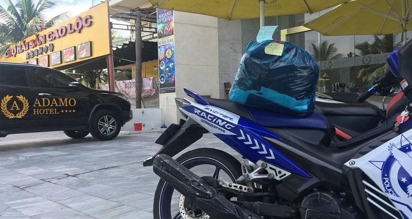 giặt ủi giao nhận tận nơi