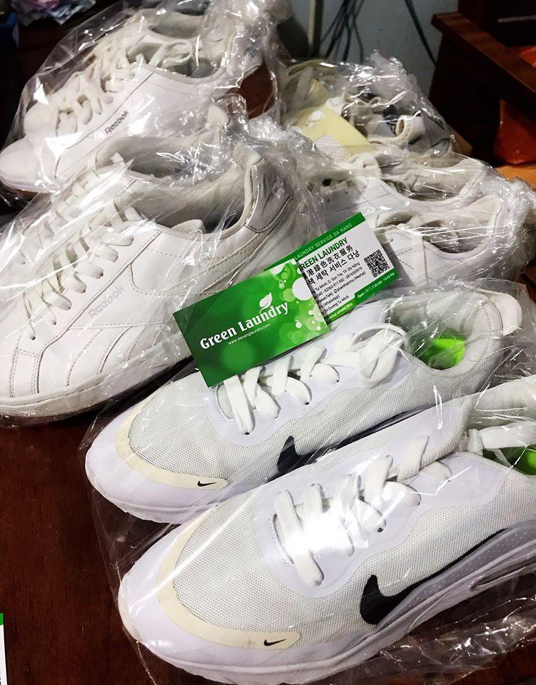 Giặt giày Đà Nẵng, vệ sinh giày, hấp giày