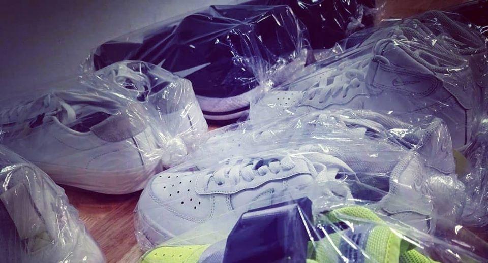 Vệ sinh giày tại Đà Nẵng, giặt giày, giặt hấp giày