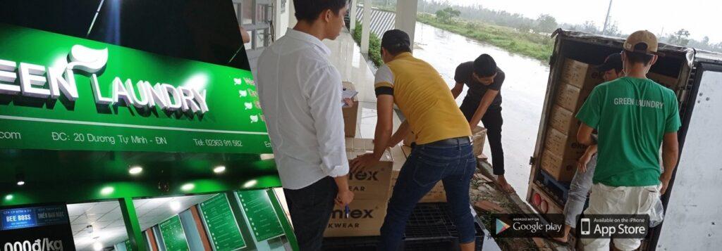 Tiệm giặt là ở Đà Nẵng