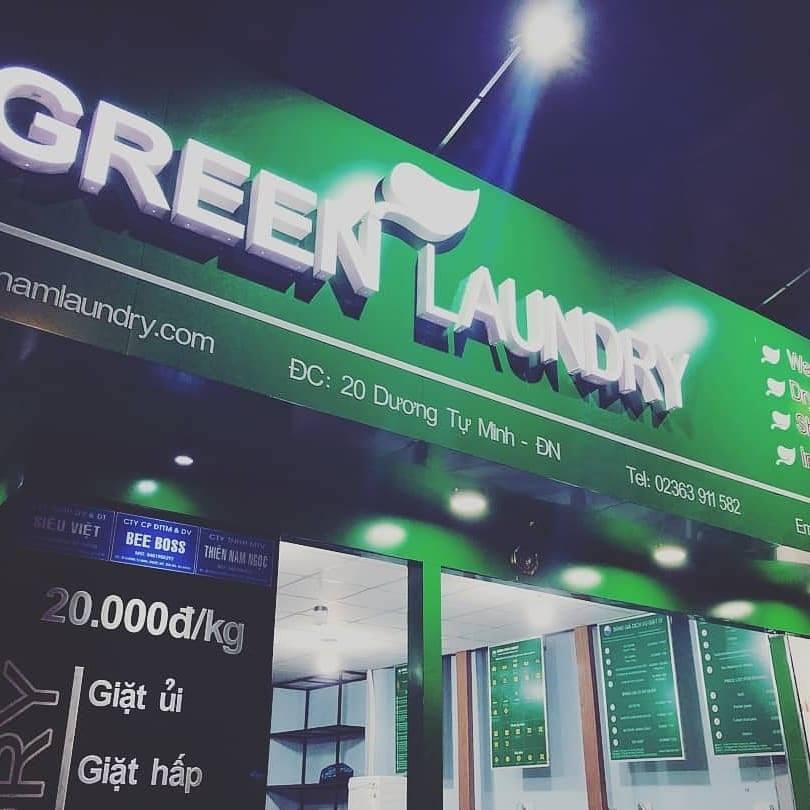 Giặt là giá rẻ uy tín tại Đà Nẵng - Green Laundry